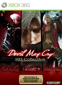 Devil May Cry HD Collection  boxshot