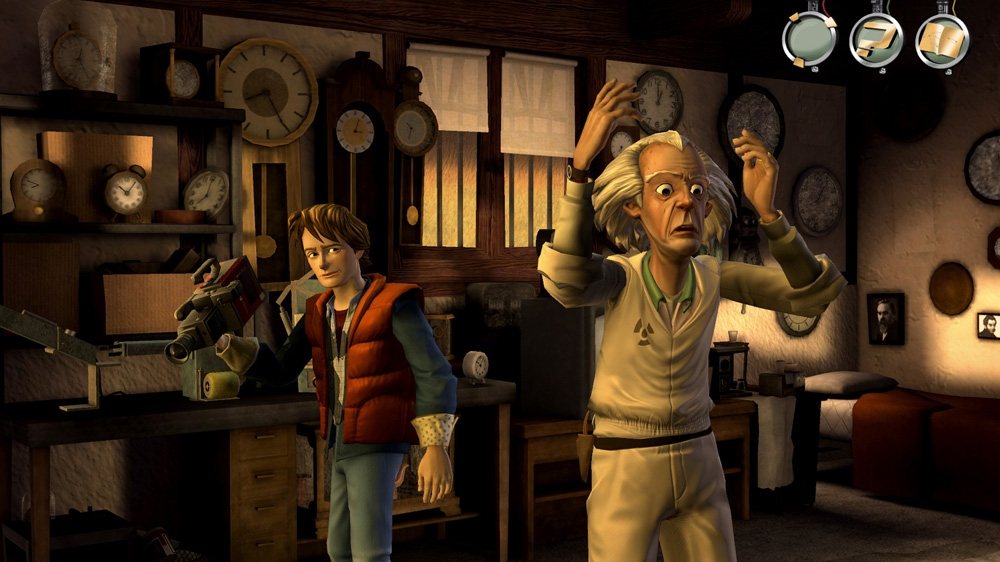 Image from Back to the Future: The Game