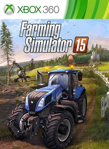 Carátula para el juego Farming Simulator 15 de Xbox 360