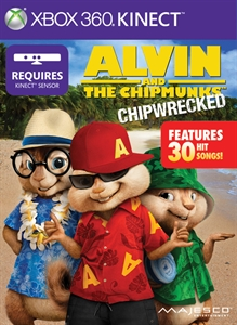 Carátula del juego Alvin and The Chipmunks: Chipwrecked