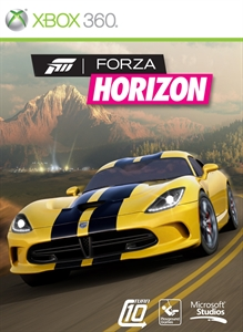 Forza Horizon boxshot