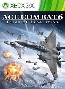 Carátula del juego ACE COMBAT 6