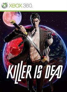 Carátula para el juego KILLER IS DEAD de Xbox 360