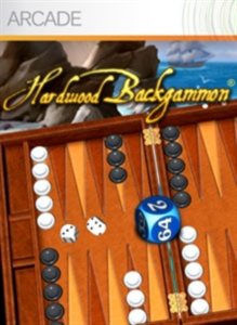Hardwood Backgammon