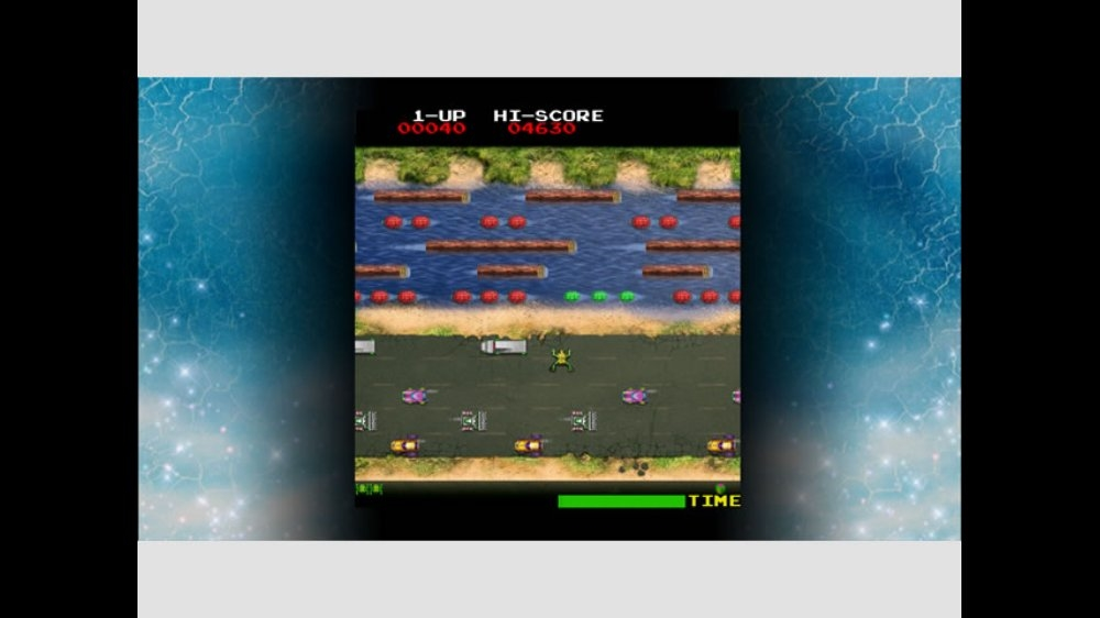 Image from Frogger