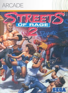 Carátula para el juego Streets of Rage 2 de Xbox 360