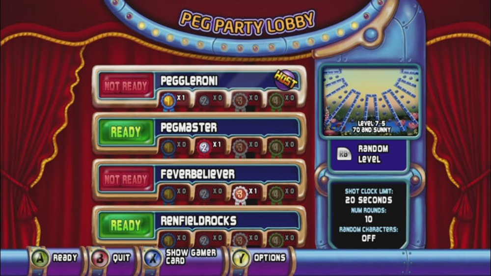 Image from Peggle