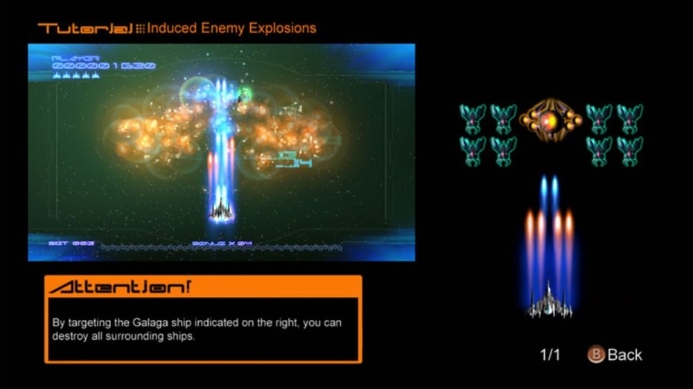 Image from Galaga Legions