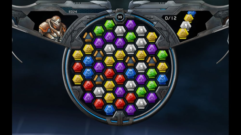 Image from Puzzle Quest Galactrix