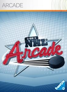 Carátula del juego 3 on 3 NHL Arcade