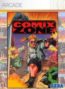 Carátula para el juego Comix Zone de Xbox 360