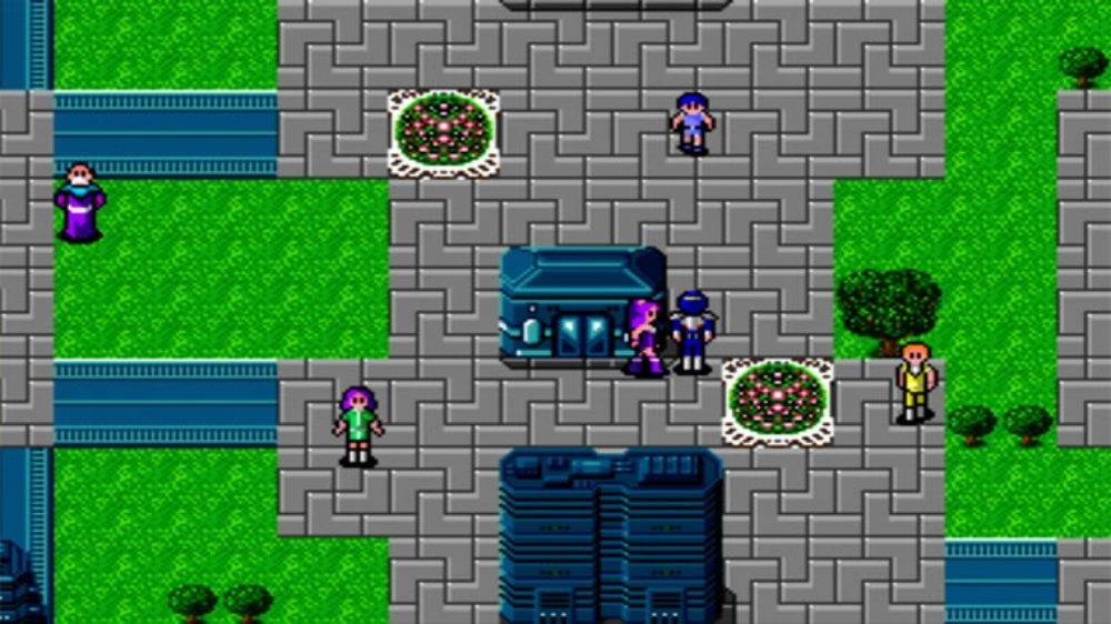 Image from Phantasy Star II
