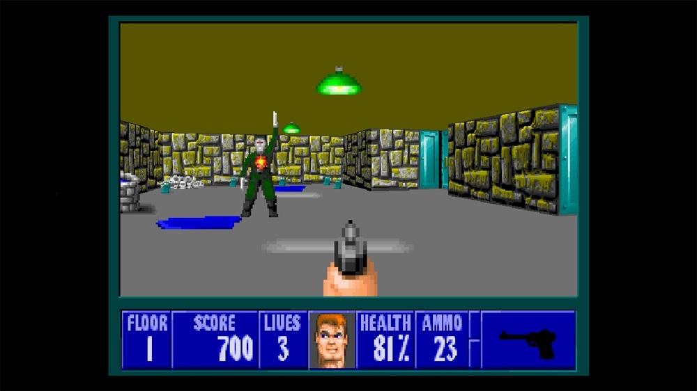 Image from Wolfenstein 3D