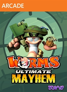 Carátula del juego Worms: Ultimate Mayhem