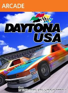 Carátula para el juego DAYTONA USA de Xbox 360