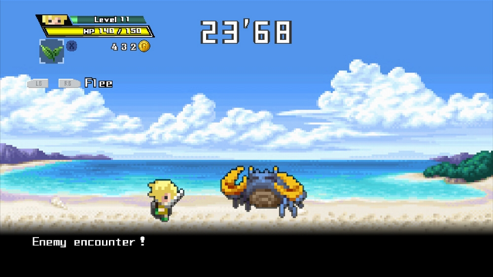 Image from HALF-MINUTE HERO -Super Mega Neo Climax-