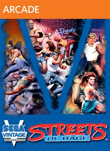 Carátula del juego Sega Vintage Collection: Streets of Rage
