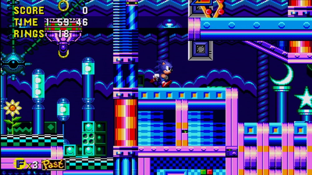Image from Sonic CD