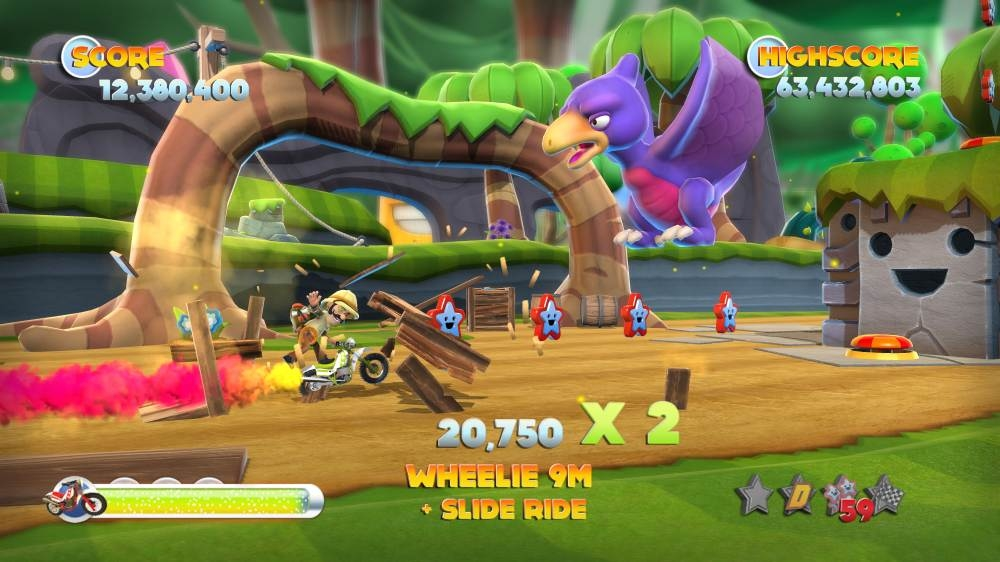 Image from Joe Danger 2: The Movie