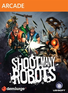 Shoot Many Robots Premium Theme
