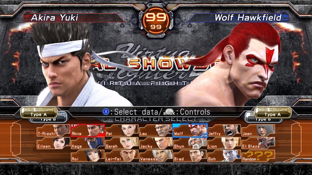 Image from Virtua Fighter 5 Final Showdown