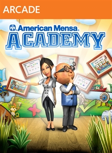 Carátula para el juego American Mensa Academy de Xbox 360