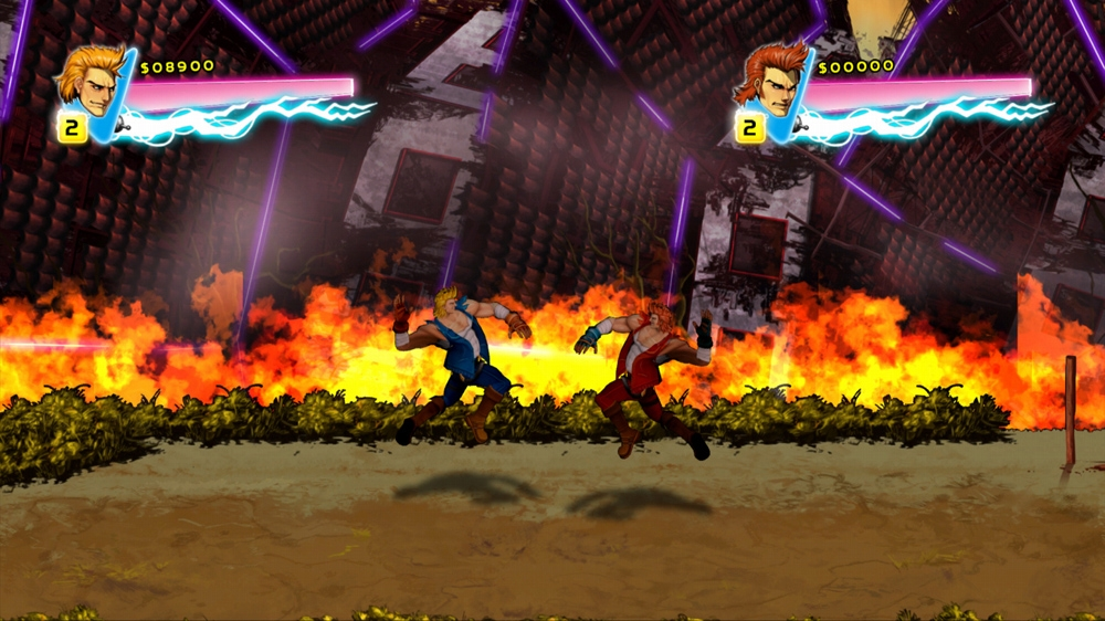 Image from Double Dragon Neon