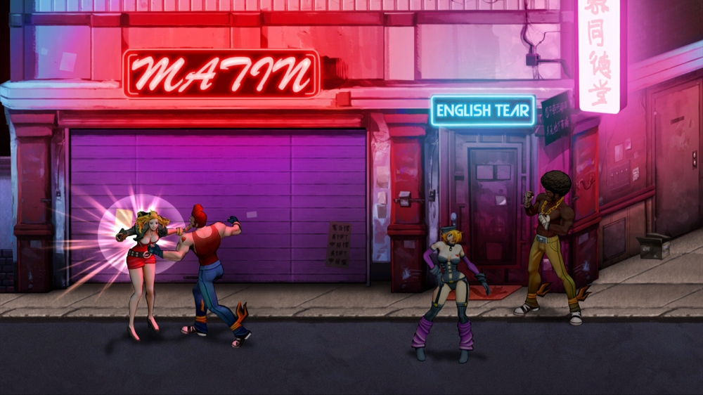 Double Dragon Neon のイメージ