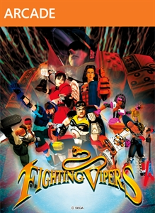 Carátula del juego Fighting Vipers