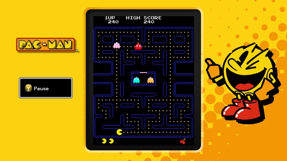 Image from PAC-MAN MUSEUM