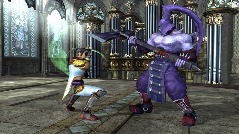 Image from SOULCALIBUR II HD