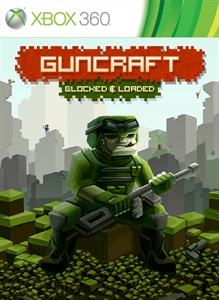 Carátula para el juego Guncraft: Blocked and Loaded de Xbox 360