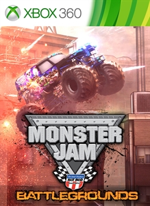 Carátula del juego Monster Jam Battlegrounds