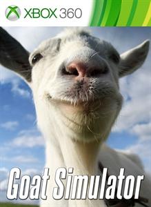 Carátula para el juego Goat Simulator de Xbox 360