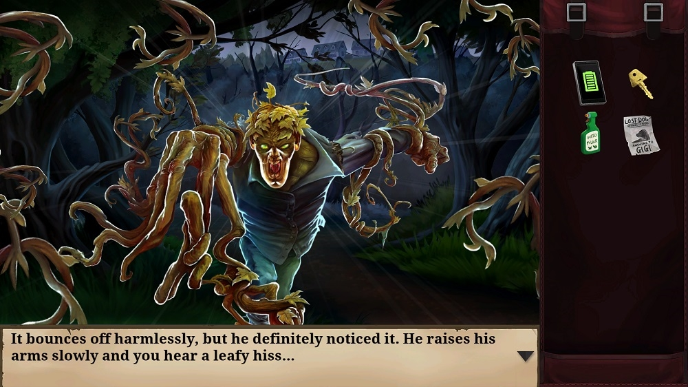 Image from Goosebumps: The Game