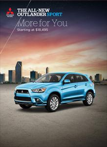 The All-New 2011 Outlander Sport