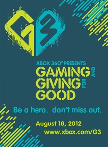 G3: Gaming and Giving for Good 2012