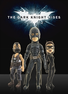 The Dark Knight Rises - Themes and Pics