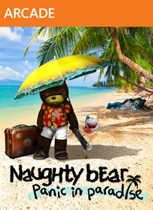 Naughty Bear Panic in Paradise - Teddy Krubear Set