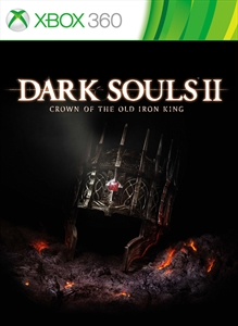 Carátula para el juego DARK SOULS II Crown of the Old Iron King de Xbox 360