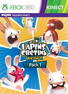 LES LAPINS CRÉTINS INVASION PACK N°1