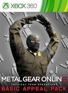 Carátula del juego METAL GEAR ONLINE