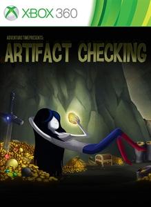 Carátula del juego Adventure Time: Artifact Checking