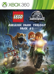 Carátula del juego LEGO Jurassic Park Trilogy Pack #1
