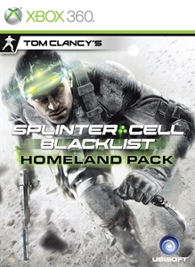 Carátula del juego Splinter Cell Blacklist Homeland Pack