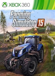Carátula para el juego Farming Simulator 15 - Lamborghini Nitro 120 de Xbox 360