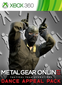"METAL GEAR ONLINE ""DANCE APPEAL PACK"""