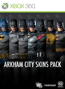 Pack de Skins Arkham City