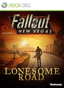 Carátula del juego Fallout: New Vegas - Lonesome Road (English)